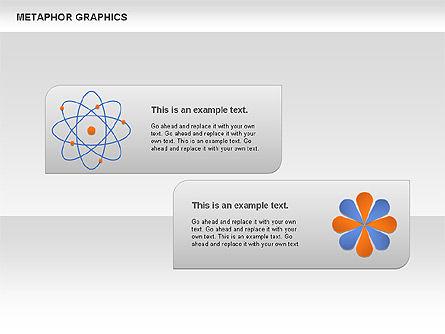 Metaphor Graphics, Slide 9, 00710, Shapes — PoweredTemplate.com