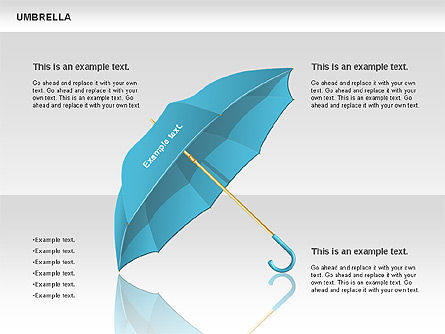 Silhouettes: Umbrella diagram #00711