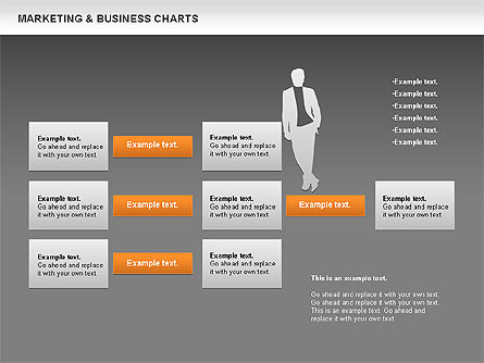 Marketing & Business Charts, Slide 13, 00712, Process Diagrams — PoweredTemplate.com