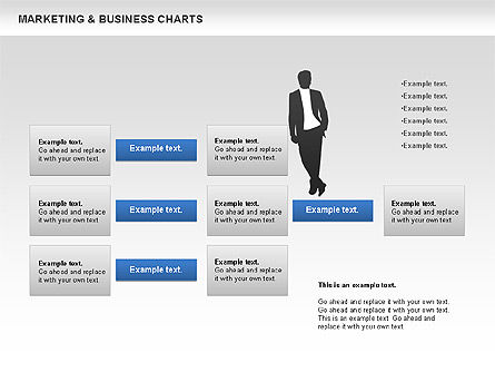 Marketing & Business Charts, Slide 4, 00712, Process Diagrams — PoweredTemplate.com