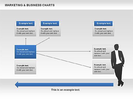 Marketing & Business Charts, Slide 7, 00712, Process Diagrams — PoweredTemplate.com