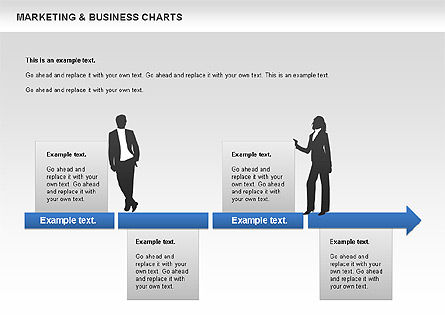 Marketing & Business Charts, Slide 8, 00712, Process Diagrams — PoweredTemplate.com