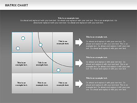 Matrix Chart, Slide 11, 00713, Matrix Charts — PoweredTemplate.com