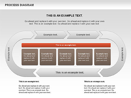 Process Diagram, Slide 3, 00716, Process Diagrams — PoweredTemplate.com