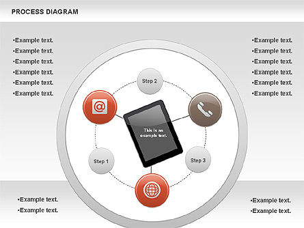 Process Diagram, Slide 4, 00716, Process Diagrams — PoweredTemplate.com