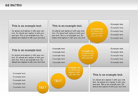 GE Matrix, Slide 10, 00718, Matrix Charts — PoweredTemplate.com