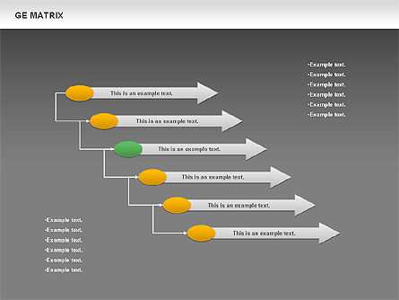 GE Matrix, Slide 13, 00718, Matrix Charts — PoweredTemplate.com