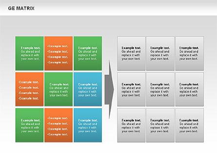 GE Matrix, Slide 2, 00718, Matrix Charts — PoweredTemplate.com