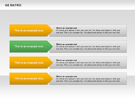 GE Matrix, Slide 3, 00718, Matrix Charts — PoweredTemplate.com