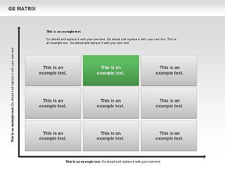 GE Matrix, Slide 4, 00718, Matrix Charts — PoweredTemplate.com