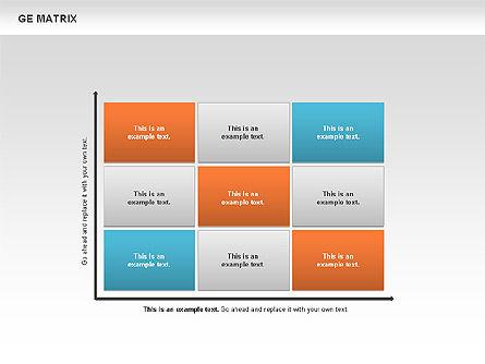GE Matrix, Slide 6, 00718, Matrix Charts — PoweredTemplate.com