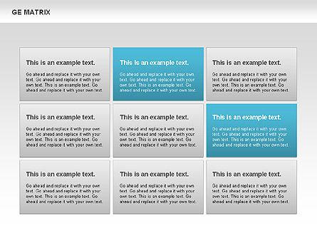 GE Matrix, Slide 8, 00718, Matrix Charts — PoweredTemplate.com