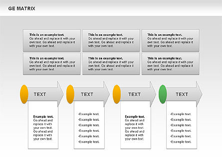GE Matrix, Slide 9, 00718, Matrix Charts — PoweredTemplate.com