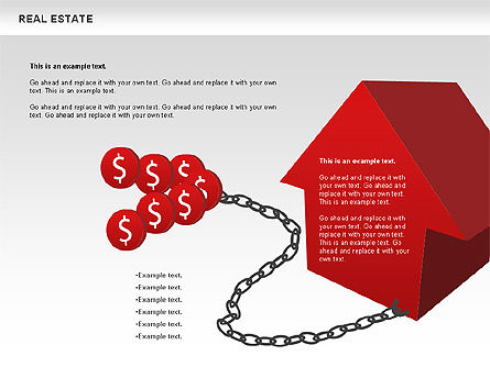 Real Estate Diagram, Slide 10, 00719, Business Models — PoweredTemplate.com