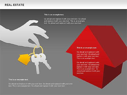 Real Estate Diagram, Slide 12, 00719, Business Models — PoweredTemplate.com