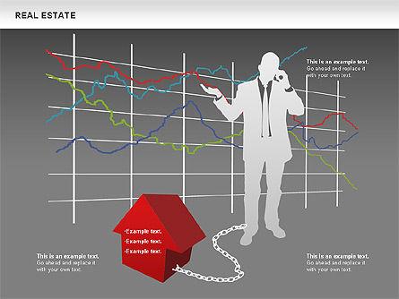 Real Estate Diagram, Slide 13, 00719, Business Models — PoweredTemplate.com