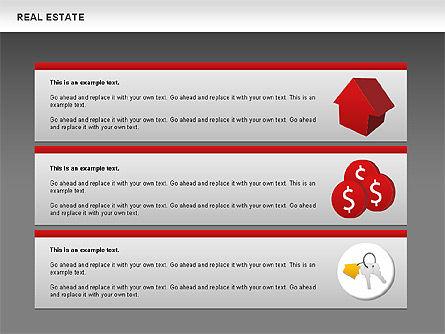 Real Estate Diagram, Slide 15, 00719, Business Models — PoweredTemplate.com