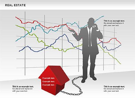 Real Estate Diagram, Slide 3, 00719, Business Models — PoweredTemplate.com