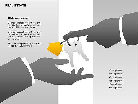 Real Estate Diagram, Slide 5, 00719, Business Models — PoweredTemplate.com