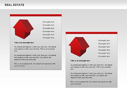 Real Estate Diagram, Slide 7, 00719, Business Models — PoweredTemplate.com