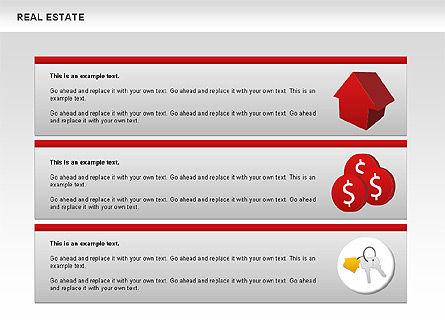 Real Estate Diagram, Slide 9, 00719, Business Models — PoweredTemplate.com