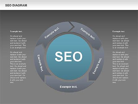 SEO Process Diagram, Slide 11, 00722, Process Diagrams — PoweredTemplate.com