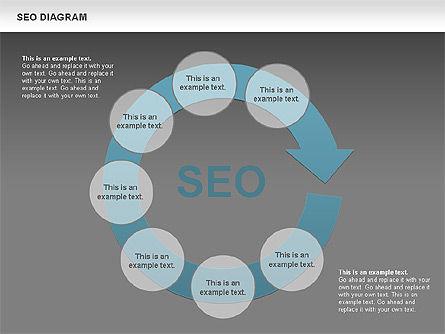 SEO Process Diagram, Slide 12, 00722, Process Diagrams — PoweredTemplate.com