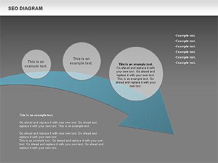 SEO Process Diagram, Slide 13, 00722, Process Diagrams — PoweredTemplate.com