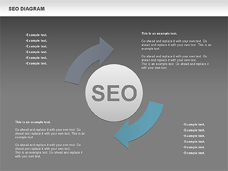 SEO Process Diagram, Slide 15, 00722, Process Diagrams — PoweredTemplate.com