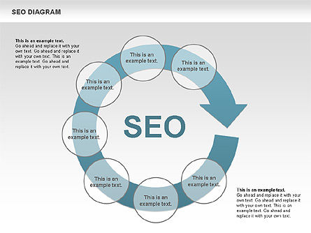 SEO Process Diagram, Slide 2, 00722, Process Diagrams — PoweredTemplate.com