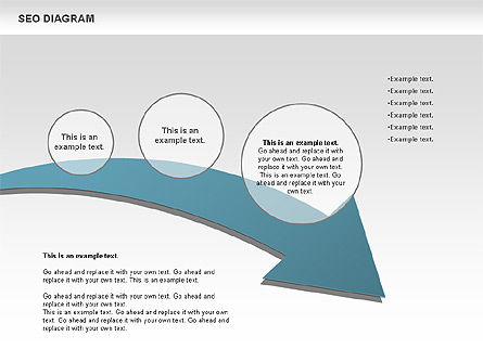 SEO Process Diagram, Slide 3, 00722, Process Diagrams — PoweredTemplate.com