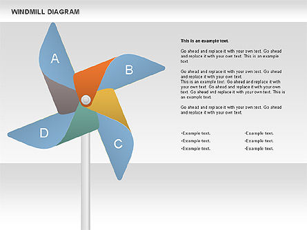 Business Models: Windmill Diagram #00728