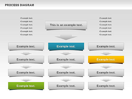 Process Timeline Diagram, Slide 10, 00730, Process Diagrams — PoweredTemplate.com