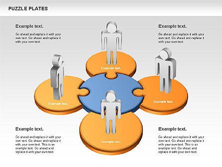 Puzzle Diagrams: Puzzle platen #00737
