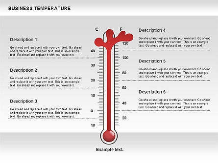 Business Temperature, Slide 3, 00741, Business Models — PoweredTemplate.com