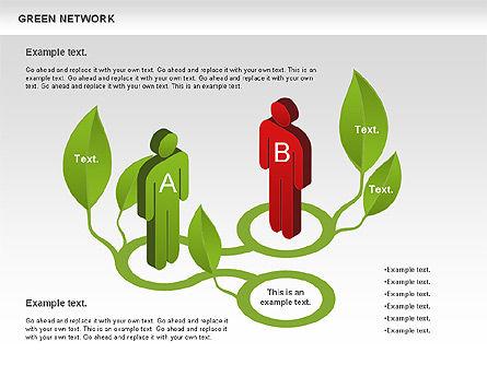 Green Network, Slide 2, 00743, Business Models — PoweredTemplate.com