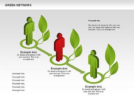 Green Network, Slide 3, 00743, Business Models — PoweredTemplate.com