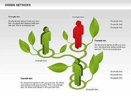 Green Network, Slide 4, 00743, Business Models — PoweredTemplate.com