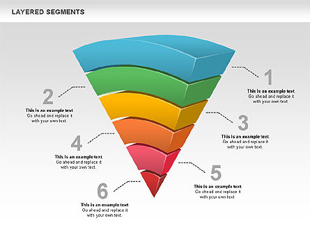 Business Models: Layered Segments #00744