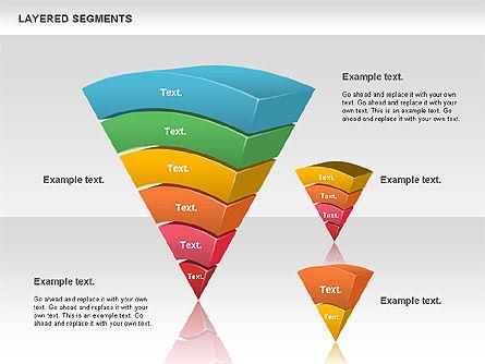 Layered Segments, Slide 12, 00744, Business Models — PoweredTemplate.com