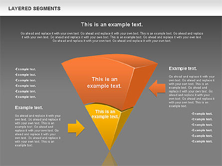 Layered Segments, Slide 16, 00744, Business Models — PoweredTemplate.com