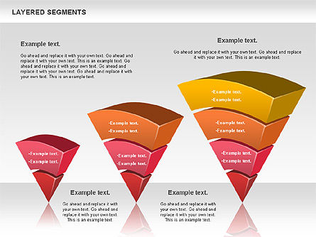 Layered Segments, Slide 7, 00744, Business Models — PoweredTemplate.com