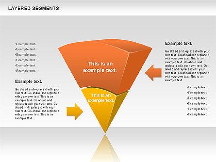 Layered Segments, Slide 8, 00744, Business Models — PoweredTemplate.com