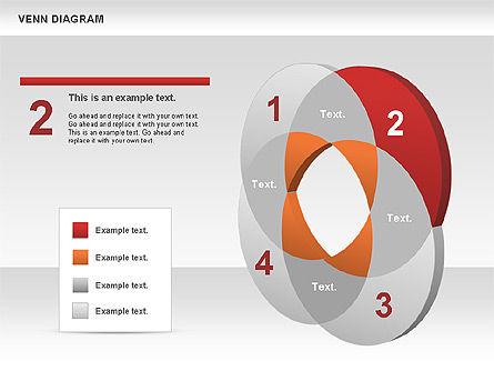 Venn Diagram, Slide 3, 00745, Business Models — PoweredTemplate.com