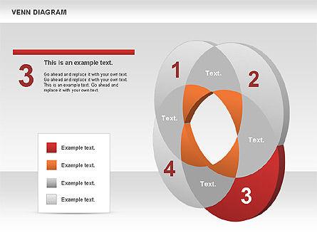 Venn Diagram, Slide 4, 00745, Business Models — PoweredTemplate.com