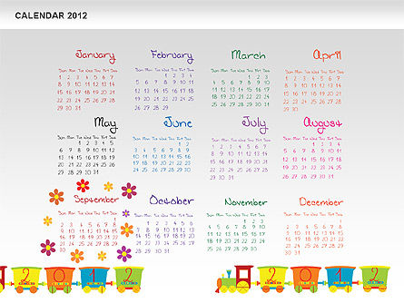 PowerPoint Calendar 2012 Slide 10