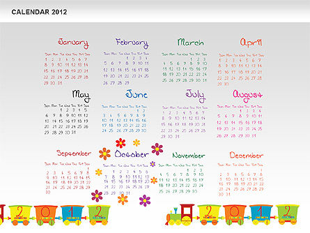 PowerPoint Calendar 2012 Slide 11