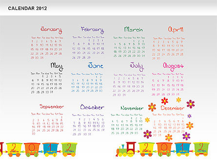 PowerPoint Calendar 2012 Slide 13