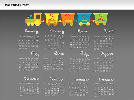 PowerPoint Calendar 2012 Slide 14