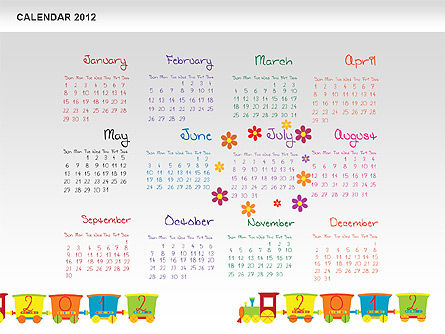 PowerPoint Calendar 2012 Slide 8